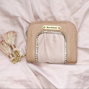 COPY - Juicy couture Pink wallet with Rhinestones